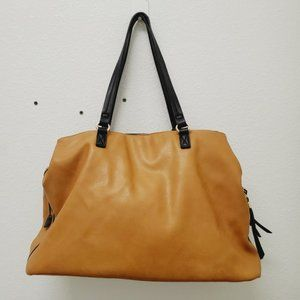 Sole Society Miller Tote Oversized Vegan Leather